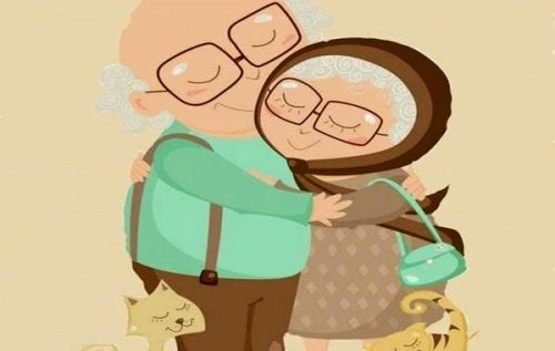 Les amours qui ne souffrent pas des années, des rides ni du temps