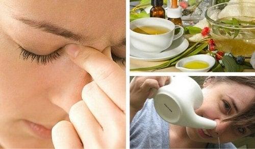 3 astuces naturelles contre la sinusite aiguë