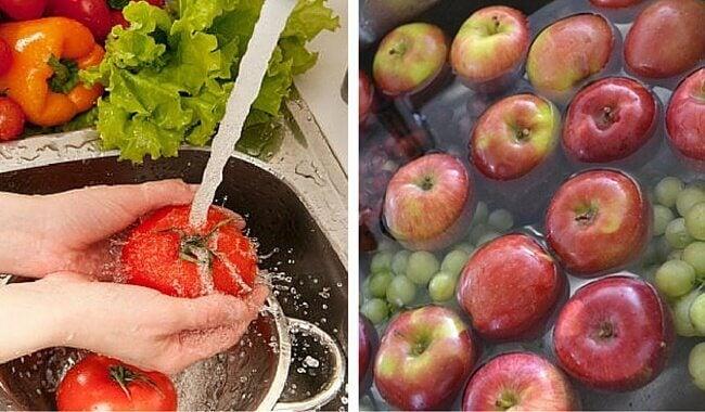 Comment éliminer les pesticides des fruits et légumes