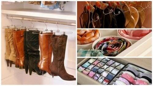 17 idées intéressantes pour ranger votre armoire et gagner de l'espace