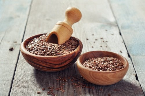 Les effets dans le côlon des graines de lin.