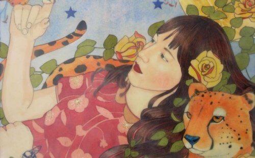 Femme-et-guepard-1-500x310