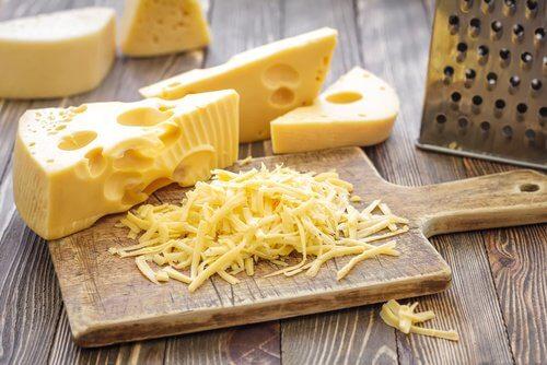Le fromage le soir.