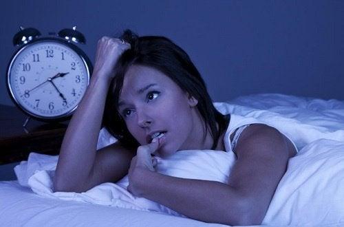 Effets de l'anxiété sur le sommeil.
