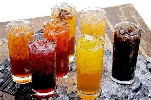 Les sodas le soir.