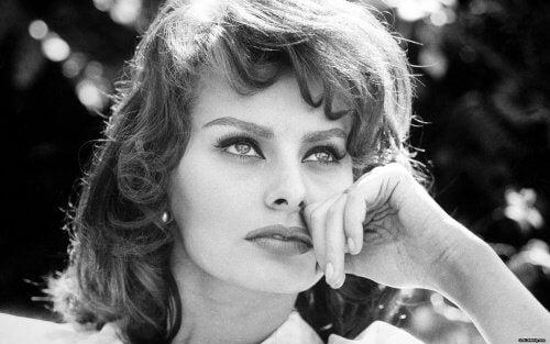 Sophia Loren jeune.