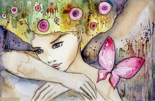 femme-papillon