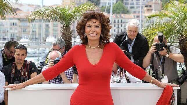 Sophia Loren : on peut être sensuelle à 81 ans