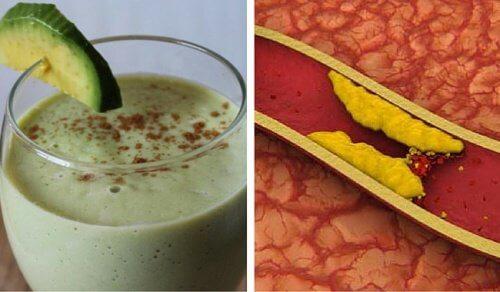 3 smoothies à base d'avocat pour combattre le cholestérol