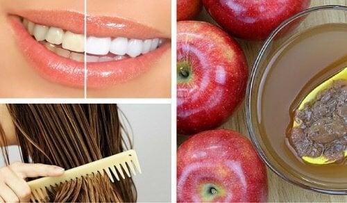 8 usages cosmétiques du vinaigre de pomme