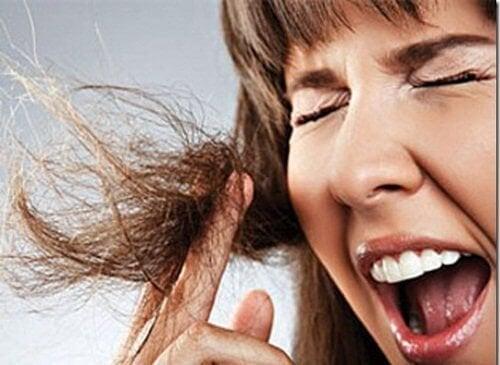 Masques hydratants pour les cheveux brûlés