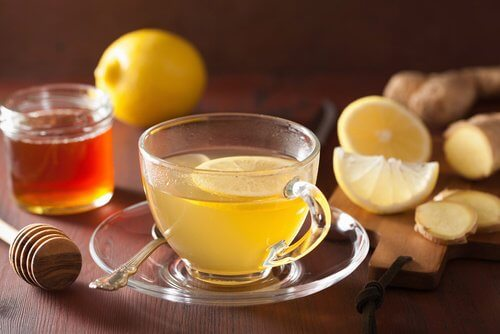 Infusion gingembre et citron