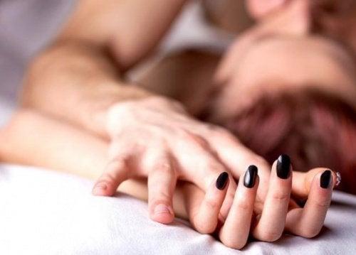Orgasme vaginal.