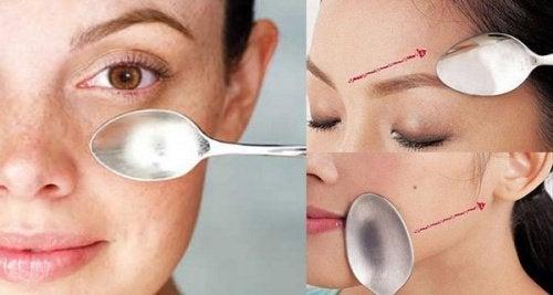 Connaissez-vous le massage du visage avec une cuillère ? Découvrez ses effets incroyables !
