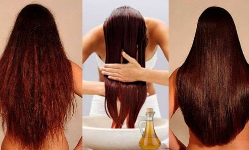 Du vinaigre pour les cheveux.