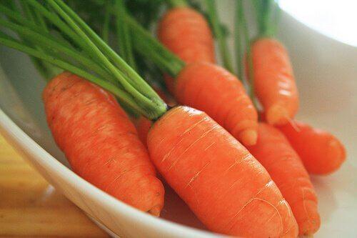 Les bienfaits du jus de carotte.