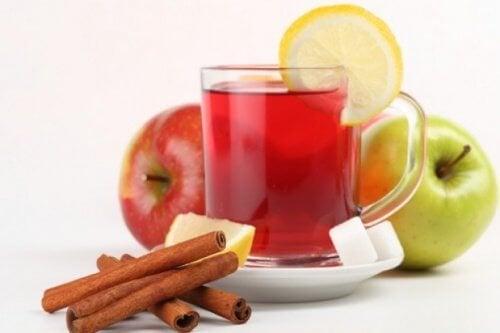 Thé à la pomme