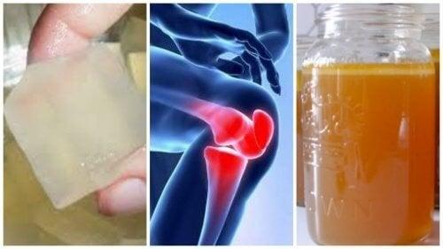 Découvrez 3 remèdes à la gélatine pour soulager vos douleurs aux articulations