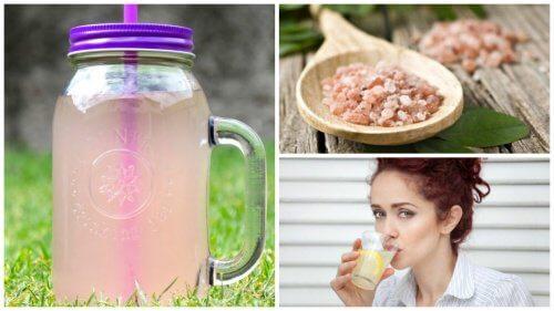 Préparer une eau alcaline pour maigrir, contre la fatigue et les maladies