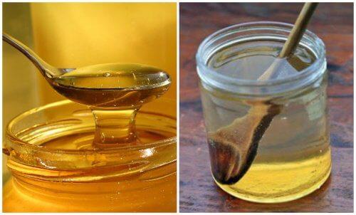 Les bienfaits de l'eau au miel