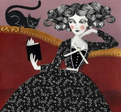 Femme-chat-noir-500x465