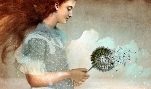Femme-et-pissenlit-rituel-d'adieu-500x295