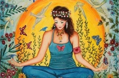 Femme-position-lotus-500x326