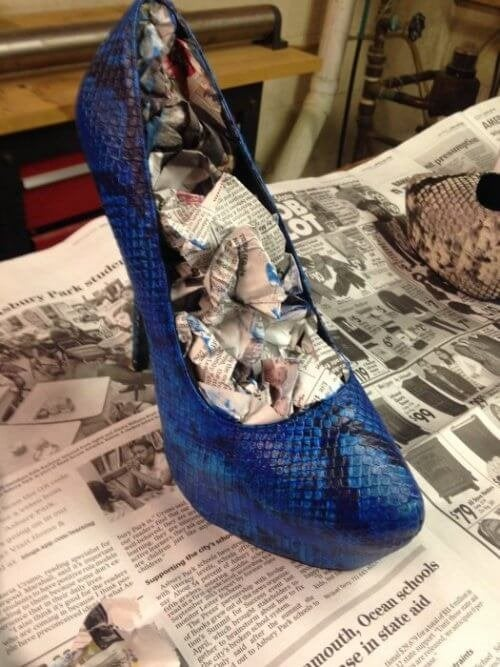Journal pour les chaussures.