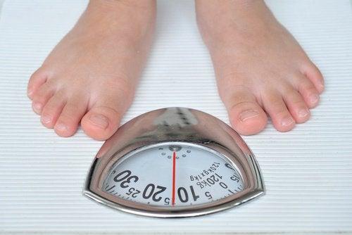 signes de déséquilibre des hormones : prise de poids
