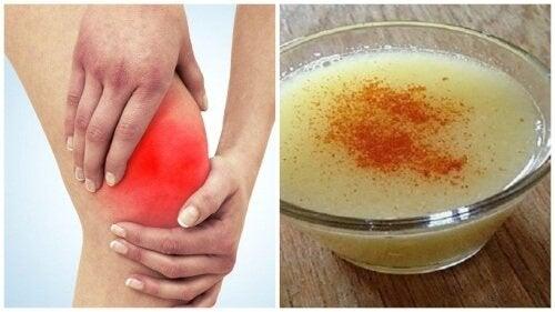 Recette à base de grénétine pour calmer les douleurs de dos et d'articulations
