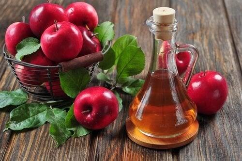 Soins naturels au vinaigre de pomme