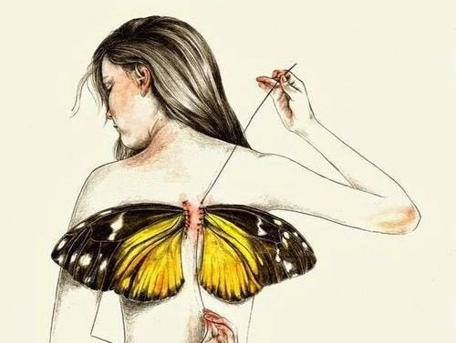 Nous naissons tous avec des ailes mais parfois, la vie nous les arrache