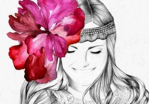 femme-fleur-sur-la-tete-500x350
