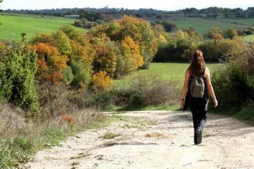 Marcher modifie le cerveau quand on souffre de dépression