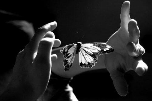 Caresser avec l'âme et atteindre l'intimité des émotions