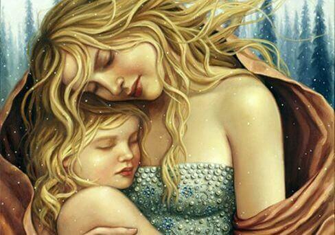Les câlins de nos enfants sont des cadeaux pour le cœur