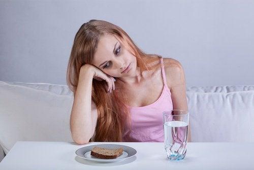 Effets de la tristesse sur l'appétit.