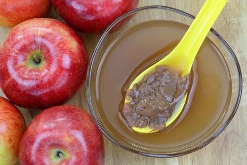 le vinaigre de pomme pour nettoyer les rideaux de douche