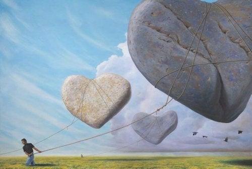 illustration - le poids du coeur dans les décisions