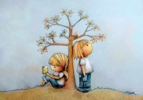 Former de futurs adultes respectueux débute pendant l'enfance.
