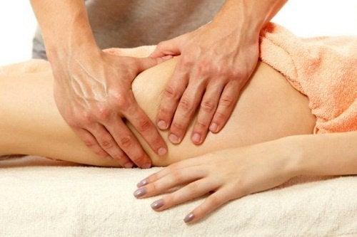 des massages pour mincir des cuisses
