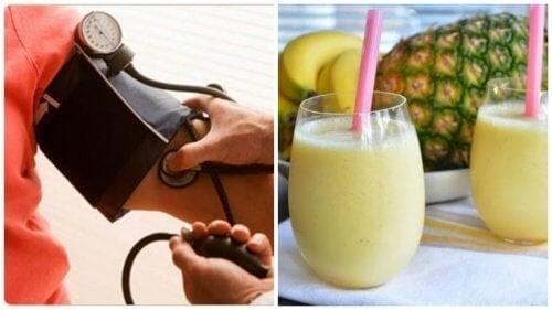 Un délicieux smoothie matinal pour contrôler l'hypertension artérielle