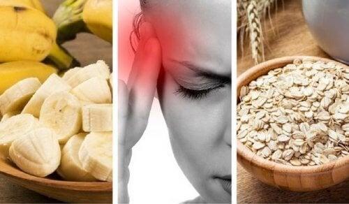 9 aliments pour éviter la fatigue et le mal de tête