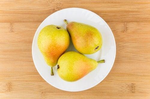 Bienfaits des poires.