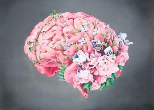 cerveau fleurs