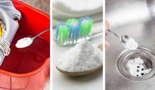 6 utilisations fantastiques du bicarbonate de soude