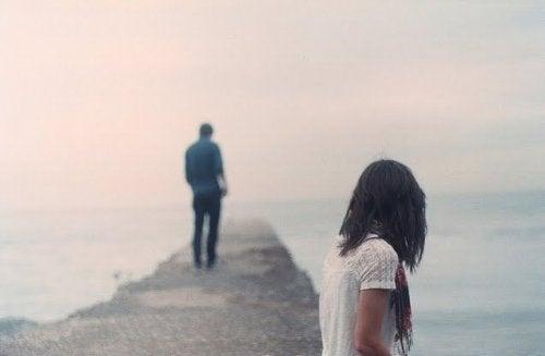 La difficulté de laisser partir un ex