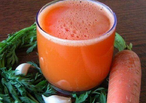 Remède à la carotte et à l'ail pour lutter contre l'épuisement