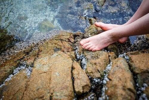 Les bienfaits de l'exposition à l'eau froide.
