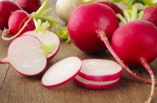 Le radis pour les artères.